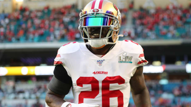49ers RB Tevin Coleman