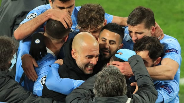 Pep Guardiola's Manchester City is off to the Champions League semifinals