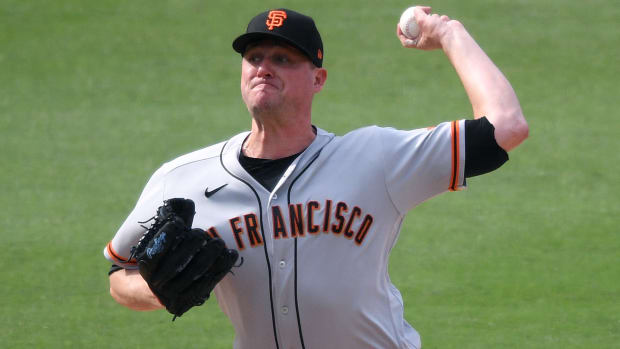 San Francisco Giants Jake McGee