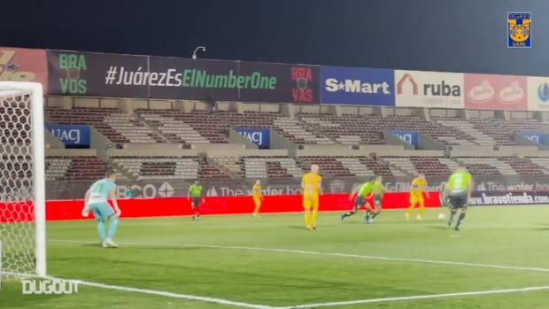 Pitchside: Tigres's three goals at FC Juárez