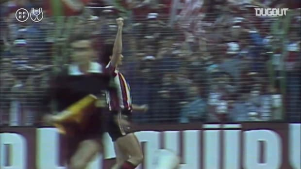 The last time Athletic Club beat FC Barcelona in a Copa del Rey Final