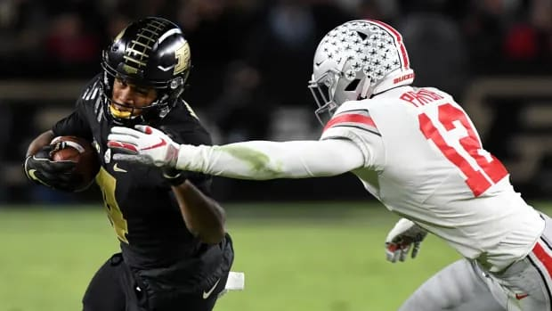 Rondale Moore in his incredible game against Ohio State