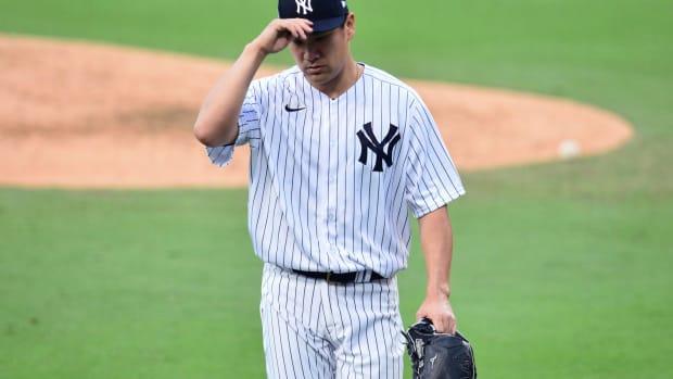 Yankees SP Masahiro Tanaka postseason vs. Rays