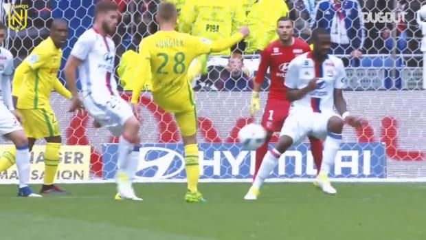 Nantes' top five goals vs Lyon
