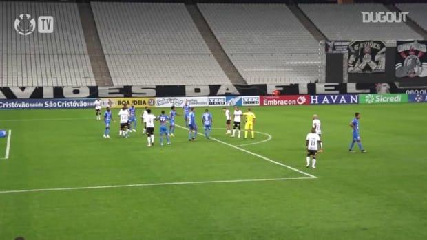 Corinthians draw against São Bento at Neo Química Arena