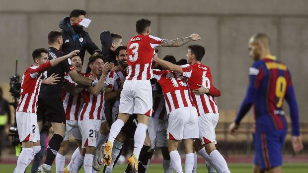 Athletic Bilbao win the Supercopa