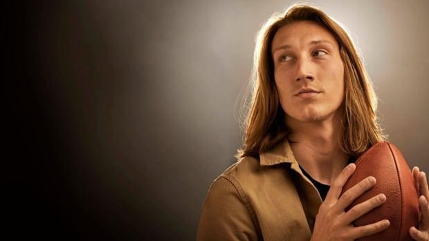 Trevor Lawrence portrait for Sports Illustrated