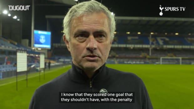 Mourinho: 'Everton result was a fair one'