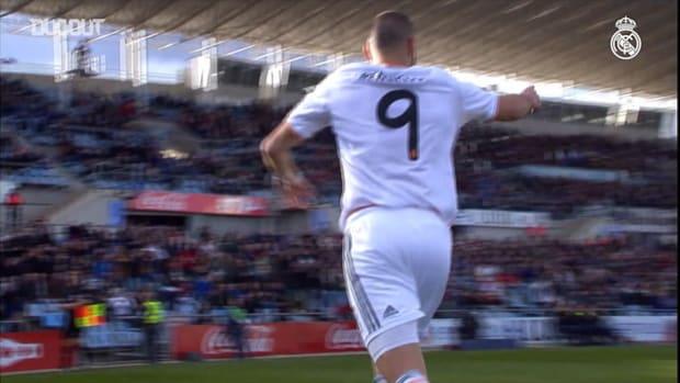 Great goals against Getafe