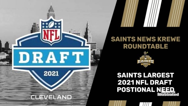 Saints Biggest Positional Draft Needs