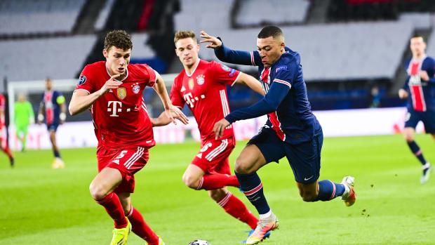 Kylian Mbappe Vs Bayern Munich