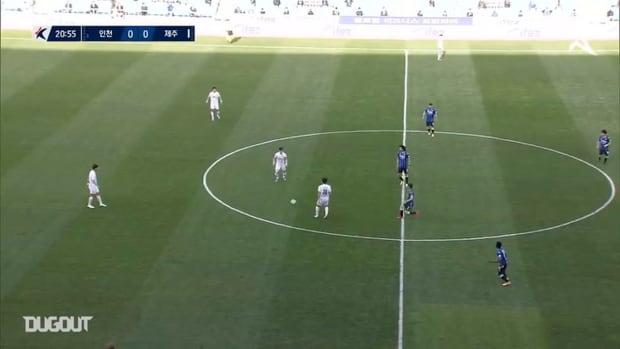 Incheon United 0-3 Jeju United: Joo Min-kyu stars with double