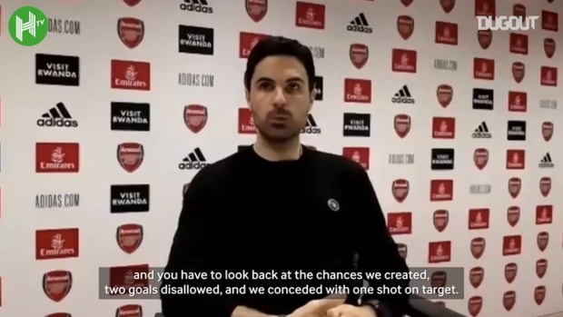 Arteta: 'We totally deserved to win'