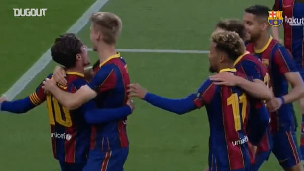 Alex Collado's great free-kick vs Villarreal B