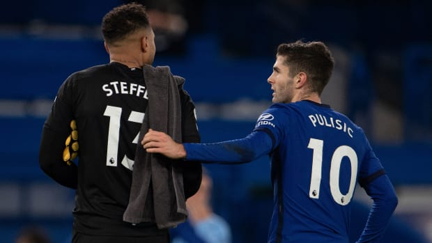 USMNT's Zack Steffen and Christian Pulisic