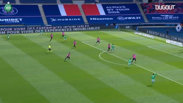 Denis Bouanga's great goal at Paris
