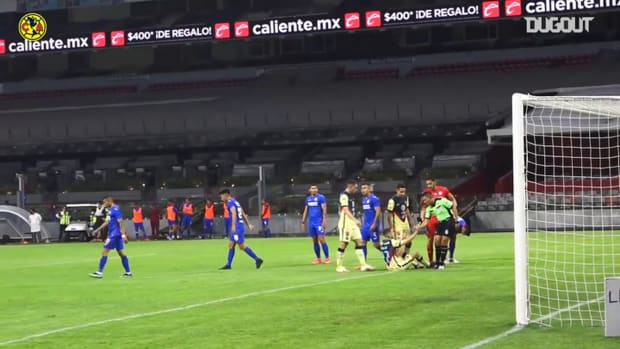 Pitchside: Emanuel Aguilera's penalty goal vs Cruz Azul