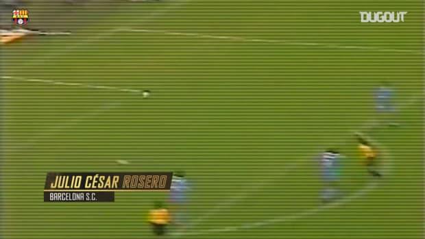 Great Barcelona SC goals in the Libertadores