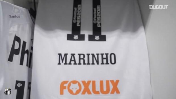 Behind the scenes of Santos' victory over Inter de Limeira