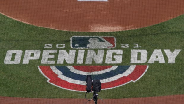 MLB's 2021 Opening Day logo