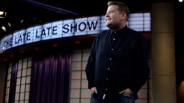 """The Late Late Show"" host James Corden"