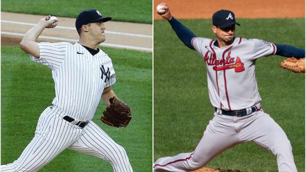 Yankees SP Jameson Taillon, Braves SP Charlie Morton