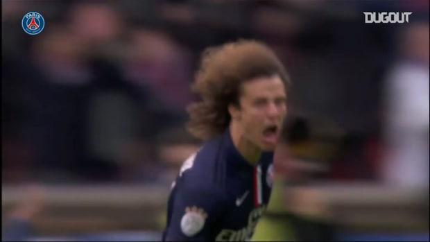 David Luiz's best moments with Paris Saint-Germain