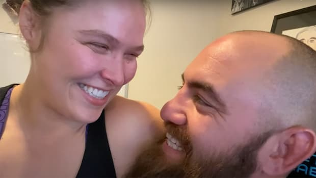 Rousey and Travis Browne discovering they are expecting their first child.
