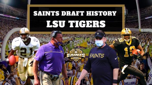 Saints Draft History