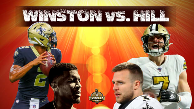 Jameis Winston vs. Taysom Hill Quarterback Competition