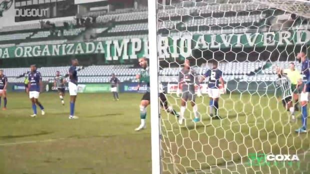 Coritiba draw against Azuriz at Couto Pereira