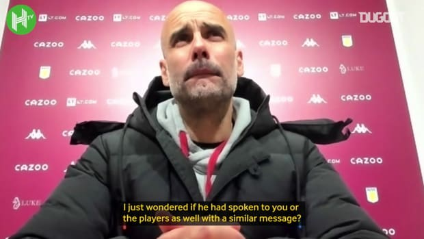 Pep Guardiola: Manchester City don't need to apologise to me