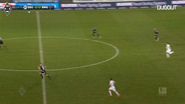 Embolo shows superb strength to score vs Arminia