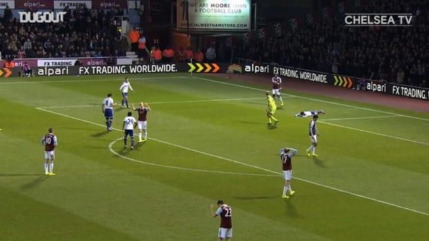 Chelsea thrash West Ham at Upton Park