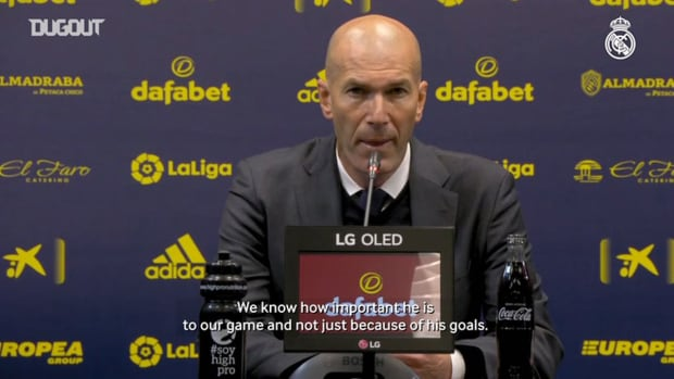 Zinedine Zidane: 'It's three very important points, but there's still a long way to go'