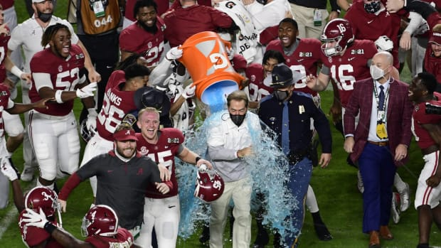 Alabama celebrates college football's 2020 national championship