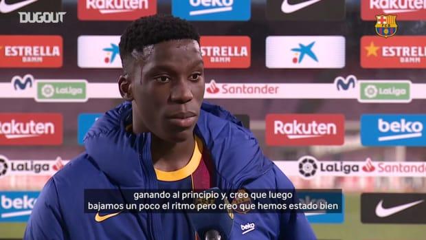 """Ilaix Moriba: """"Cinco goles no son casualidad"""""""