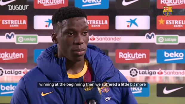 Ilaix Moriba: 'I'm not surprised for the result'