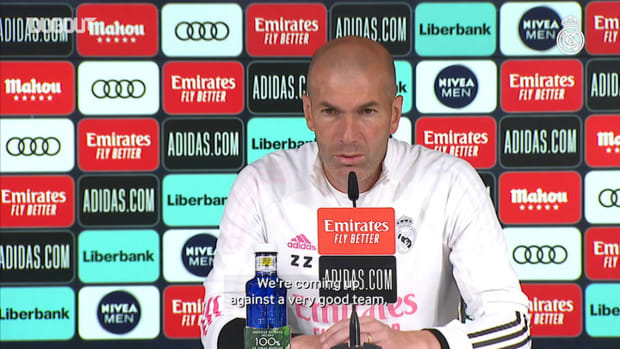 Zinedine Zidane: 'We have difficult matches right to the end'