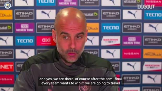 Pep Guardiola previews 2020-21 Carabao Cup final