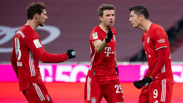 Bayern Munich wins the Bundesliga title