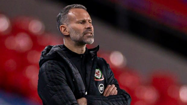 Wales coach Ryan Giggs