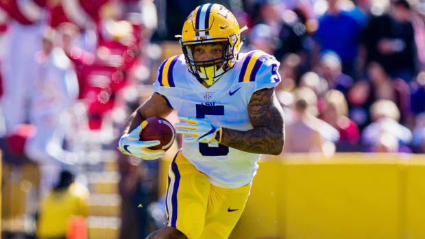 Former LSU running back Derrius Guice