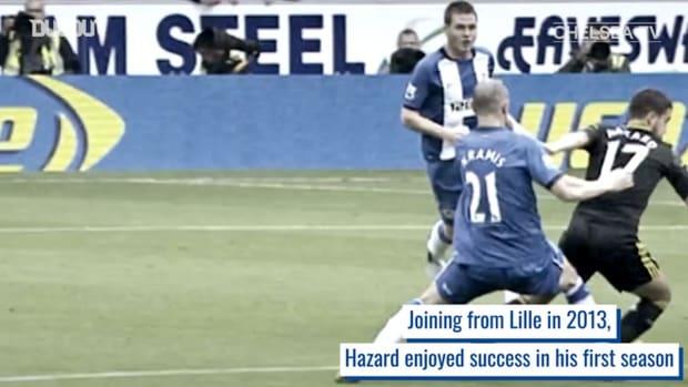 Eden Hazard's incredible impact at Chelsea