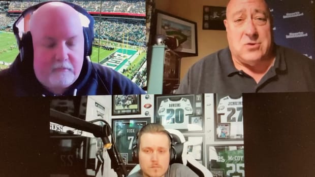 Eagle Unfiltered podcast with Ed Kracz, John McMullen, and Conor Myles