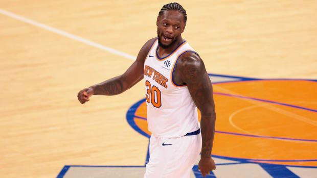 Julius Randle of the Knicks