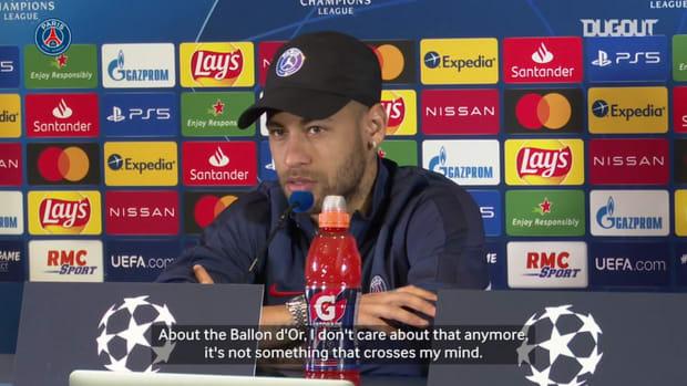 Neymar Jr: ' I want to win the Champions League '