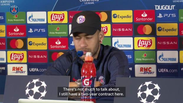 Neymar Jr : ' I'm getting more and more comfortable here in Paris. '