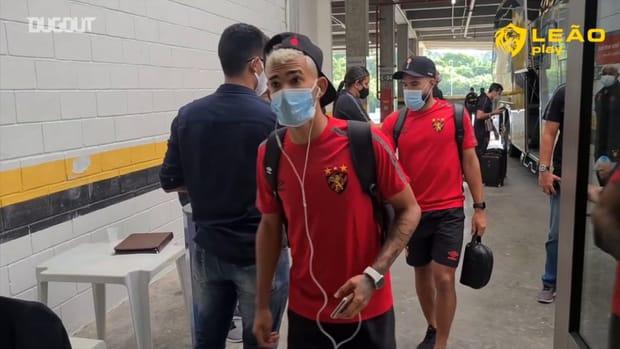 Behind the scenes of Sport Recife's away victory over Retrô