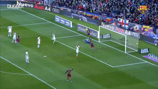 Leo Messi's top 5 goals against Granada